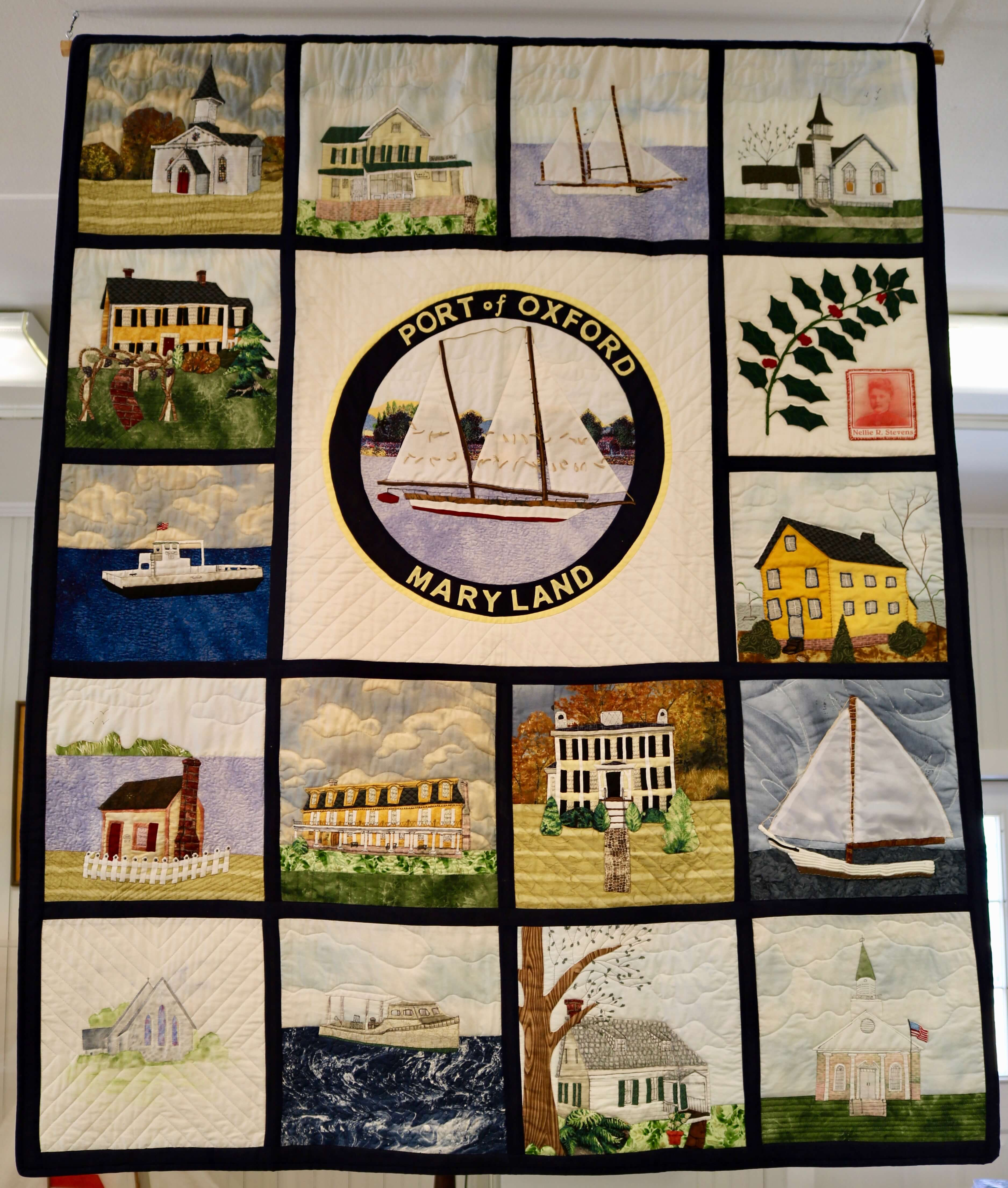 The Quilt Of Oxford The Oxford Museum